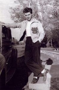 Bob Shultz in high school