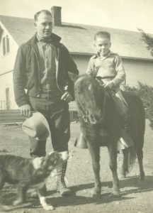 Bobby with his father Ralph Shultz
