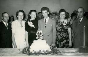 Norma and Bob Shultz get married 1948