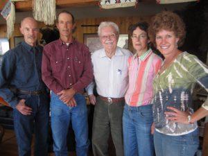 Bob Shultz with his 4 children 2013