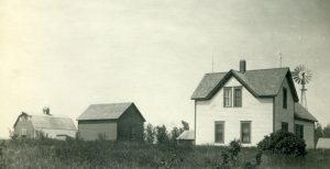 Schwabauer homestead near Lane, South Dakota